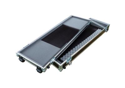 Kofer za klavijature 76 tipki s kotačima, plitka podnica