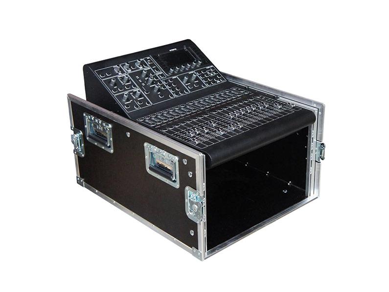 Rack Case 4U + Midas mikser, tri poklopca
